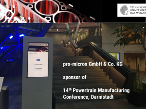 Kraftmessung spike at Darmstadt Powertrain Conference